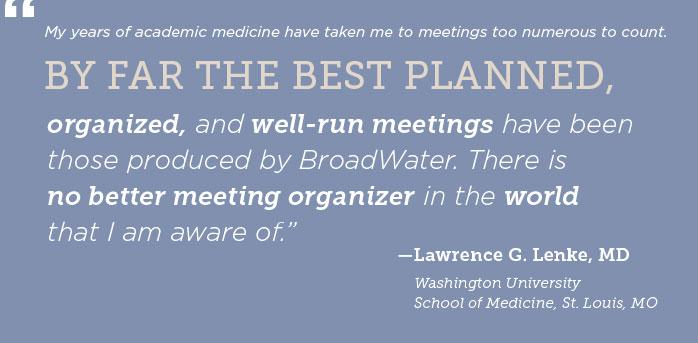 Lawrence Lenke, MD Testimonial
