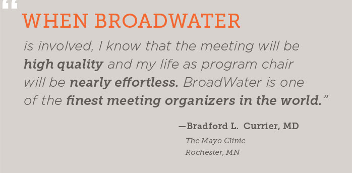 Bradford Currier, MD Testimonial
