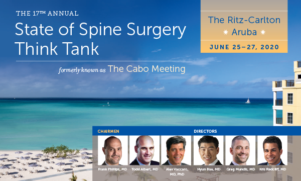 State of Spine 2020 Think Tank Conference