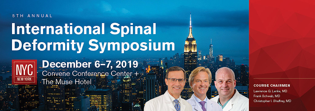 ISDS-2019 CME Spine Meeting