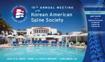 Korean American Spine Society Annual Meeting