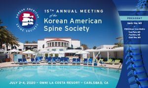 Korean American Spine Society Annual Meeting