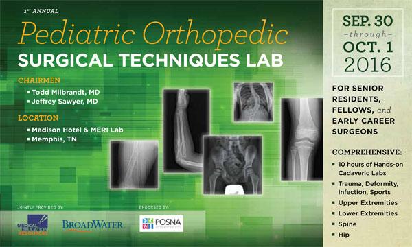 Pediatric Orthopedic Spine Meeting--POST