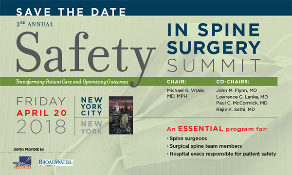 Safety- in Spine Surgery Summit 018