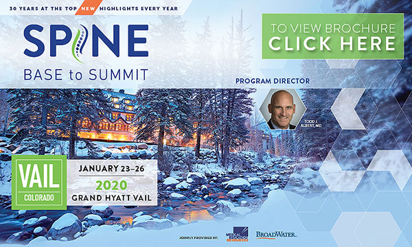 Spine: Base to Summit 2020_CME-Meeting