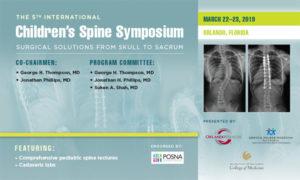 International Children's Spine Symposium ICSS