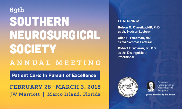 Southern Neurosurgical Society Annual Meeting (SNS)