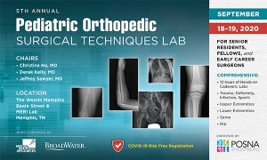 Pediatric Orthopedic Techniques Lab 2020