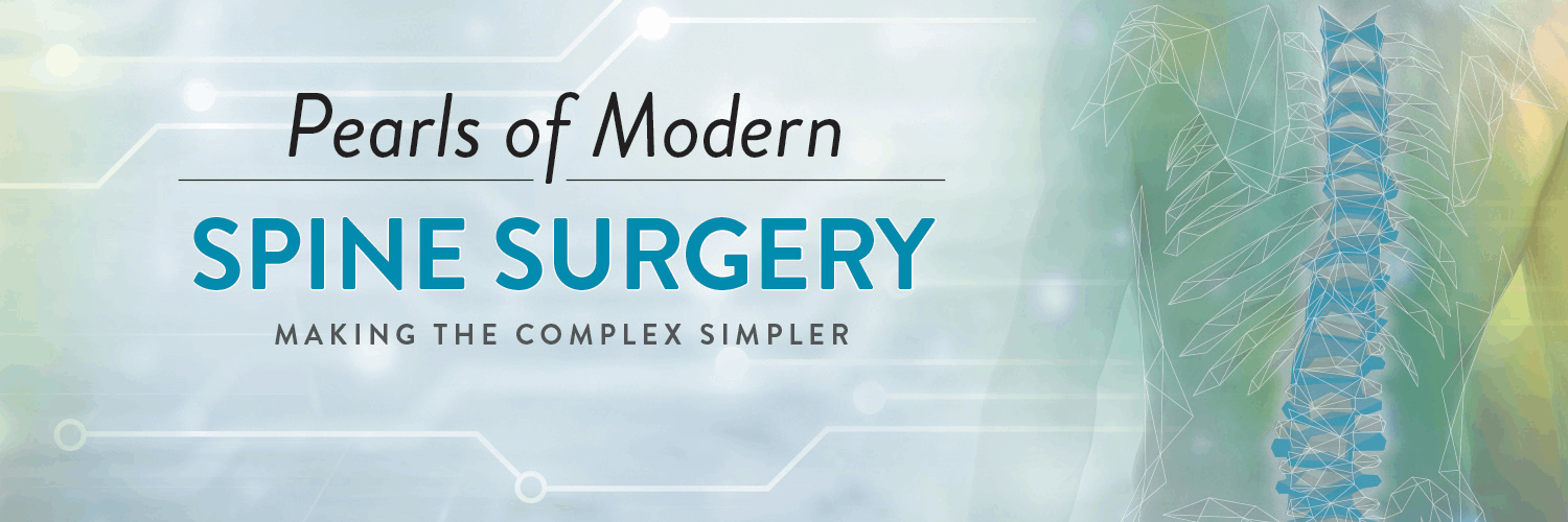 Pearls of Modern Spine Surgery Banner
