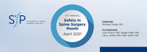 Safety in Spine Surgery Month - S3P