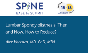 Lumbar Spondylolisthesis: Then and Now. How to Reduce?